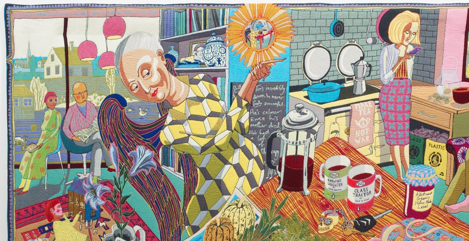 rsg announce grayson perry exhibition sponsorship