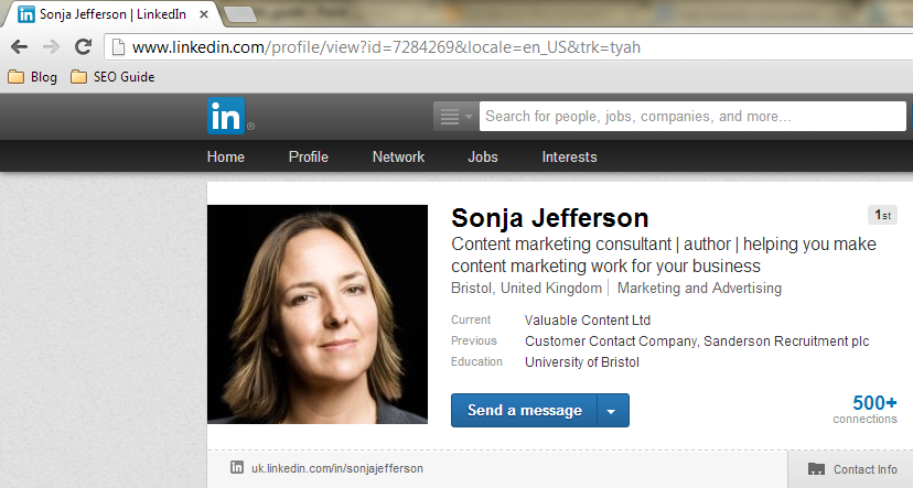 how to use linkedin connections to get a job