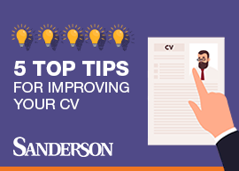 5 top tips for improving your CV