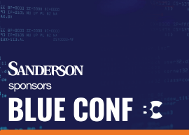 Announcing our sponsorship of the Blue Conference!