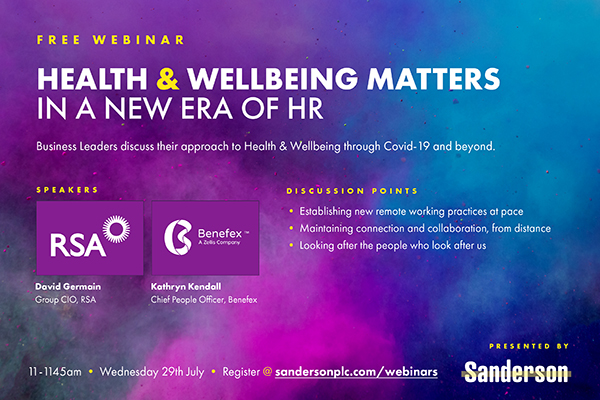 Health & Wellbeing Matters: In a new era of HR.