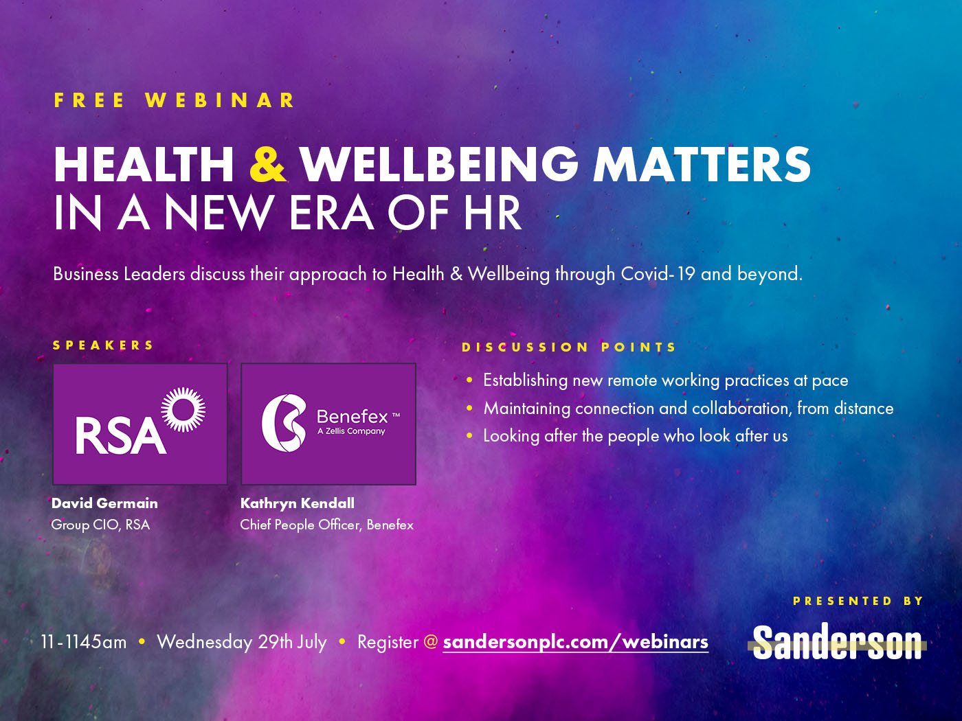 Health & Wellbeing Matters in a New Era of HR