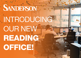 Sanderson Reading: a brand new office for a growing team!