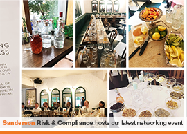 Sanderson Risk & Compliance hosts our latest networking event in 2019