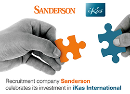 Sanderson invests in iKas International