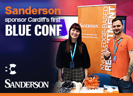 Sanderson sponsor Cardiff's first full-stack conference, BlueConf