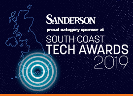 Sanderson sponsor the South Coast Tech Awards!